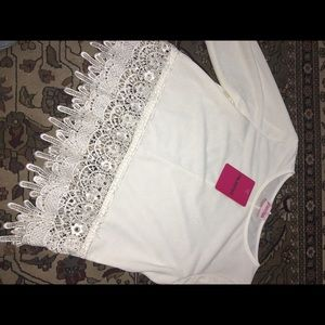 Tops - White sexy top